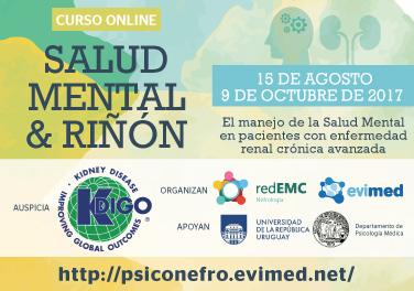 Salud Mental y Riñón: El manejo de la Salud Mental en pacientes con enfermedad renal crónica avanzada