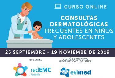 Consultas dermatológicas frecuentes en niños y adolescentes