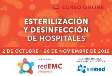 Esterilización y desinfección en hospitales