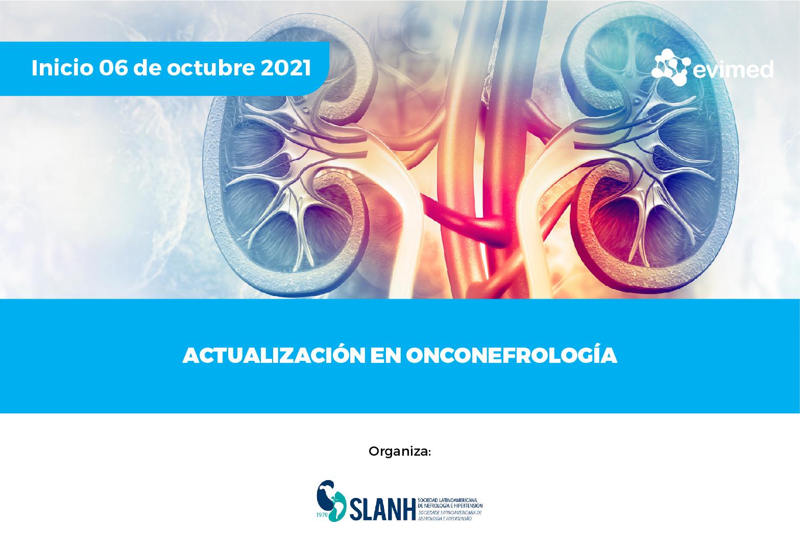 Actualización en onconefrología
